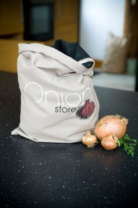Storing onions in the kitchen
